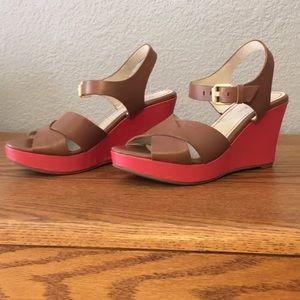 Boden colorblock wedge heels! Size 37